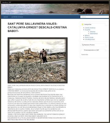 SANT PERE SALLAVINERA-VIAJES-TRAVEL-INSPIRACION ARTISTICA-ERNEST DESCALS-CRISTINA BABOT