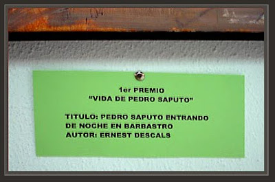 ALMUDEVAR-HUESCA-ERNEST DESCALS-PRIMER PREMIO-CONCURSO DE PINTURA-PEDRO SAPUTO