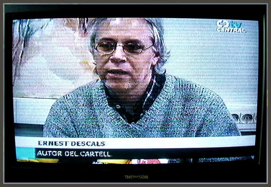 EXPOBAGES-TELEVISION-ERNEST DESCALS-CARTEL-RUEDA DE PRENSA