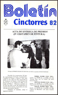 CINCTORRES-HISTORIA-ERNEST DESCALS-BOLETIN