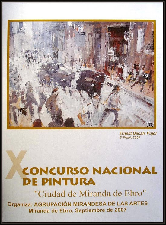 MIRANDA DE  EBRO-CONCURSO PINTURA-ERNEST DESCALS