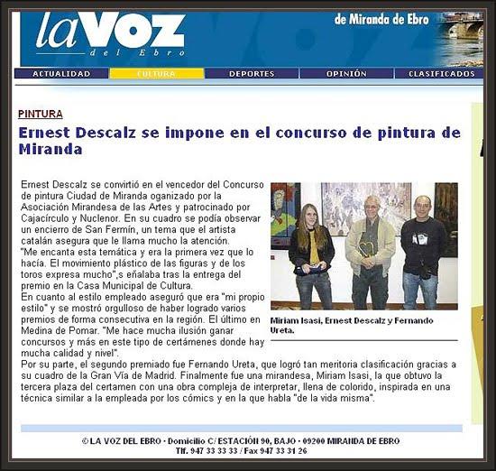 MIRANDA DE EBRO-ERNEST DESCALS-PREMIOS PINTURA