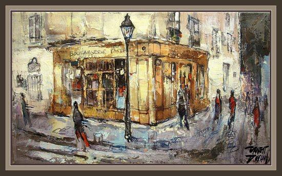 PARIS-MONTMARTRE-ERNEST DESCALS-BOULANGERIE