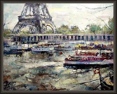 PARIS-TORRE EIFFEL-SENA-ERNEST DESCALS
