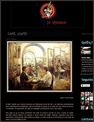 CAFE GRECCO-ROMA-ERNEST DESCALS-PINTURA