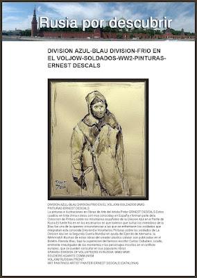 division azul-ernest descals-rusia por descubrir