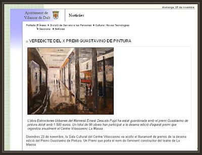 VILASSAR DE DALT-WEB DEL AYUNTAMIENTO-AJUNTAMENT-PREMIO DE PINTURA GUASTAVINO-ERNEST DESCALS