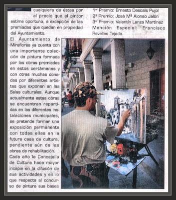 MIRAFLORES DE LA SIERRA-MADRID-REVISTA-PREMIOS-PINTURA-ERNEST DESCALS