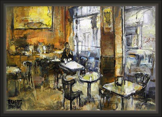 REUS-CONSTANTI ART-SALA DE ARTE-PINTURAS-CAFETERIAS-PARIS-ERNEST DESCALS