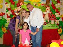 Paula (filha) netas e eu