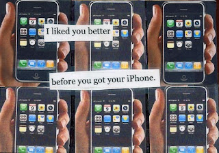 postsecret: i liked you better before you got your iphone