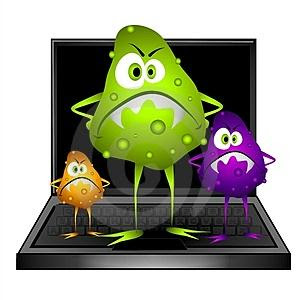 Of computer viruses there are different types of computer viruses