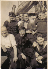 My Dad (bottom right) c 1944