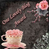 My Award Thank you Tracey
