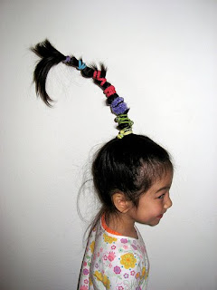 Livin In The Copa Who Hair Tutorial For My Ward Party