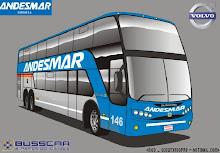 Micro Andesmar Volvo Busscar