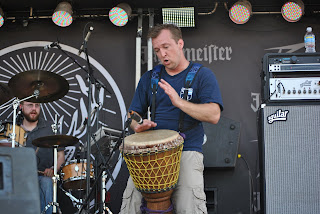 The Station with Greg Fundis on djembe