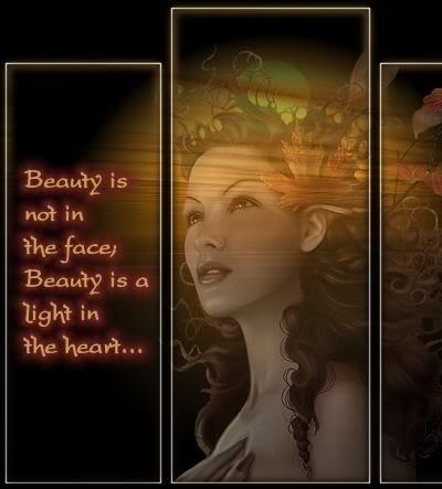 La Belleza es la Luz del Corazón