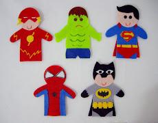 Dedoche Super-heróis