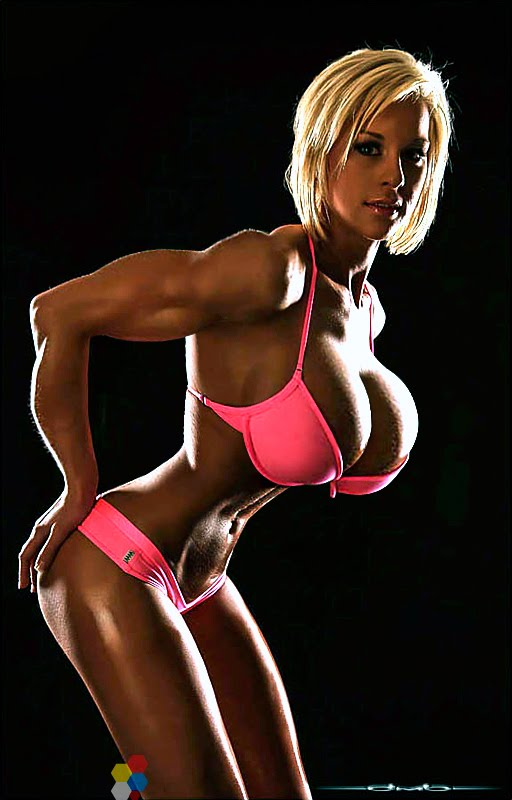 image Ashley lawrence aka fembomb laser bikini enhanced