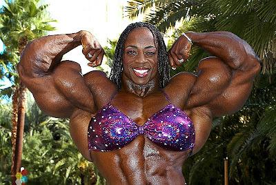 Iris Kyle Muscle Morph