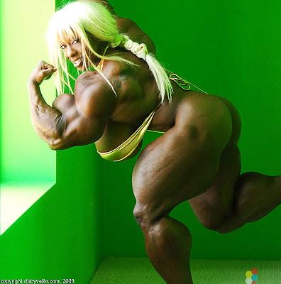 Yvette Bova muscle morph