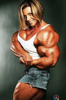 Fabiola Boulanger muscle morph