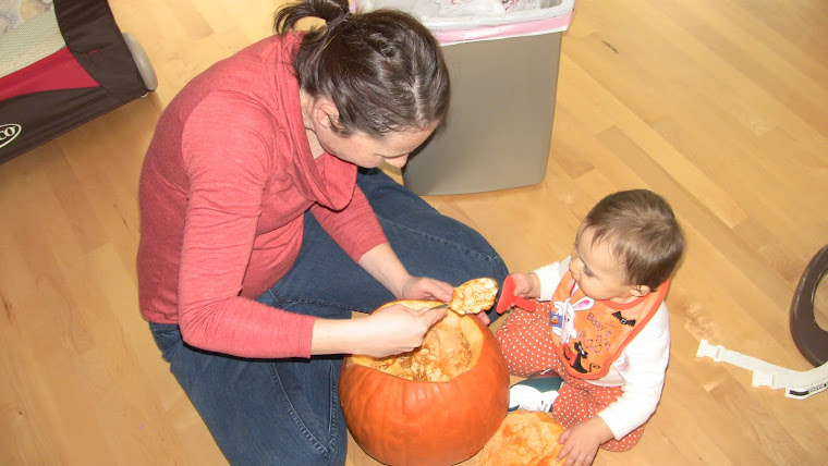 Carving Daddy's Pumpkin!