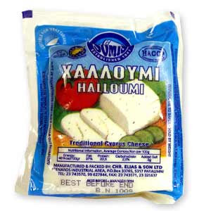 Halloumi packaging