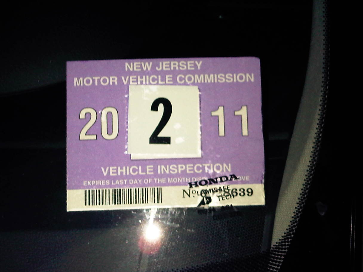 Nj vehicle inspection vehicle ideas for Motor vehicle inspection nj
