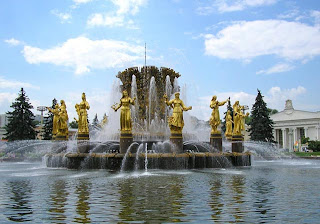 Moscow - Top 15 Fountains of the World