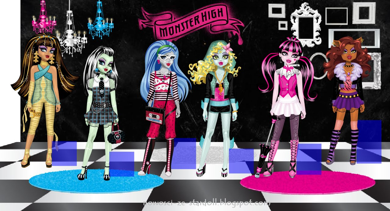 Nowy sklep na stardoll- Monster High