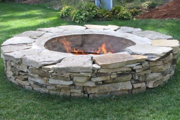 Round River Rocks And Flat Stones Are A Beautiful Addition To Your Garden,  And Theyu0027re Easy To Work With To Create Walkways, Patios, Fire Pits, Dry  Creeks, ...