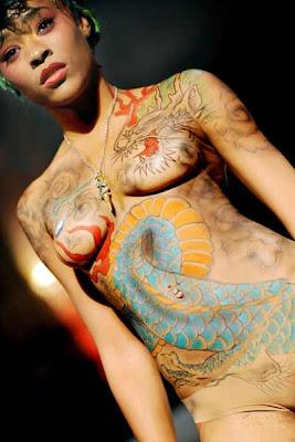 Body Art fashion show Bullet 4 Peace