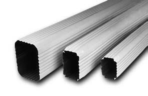 Aluminum gutter supplies