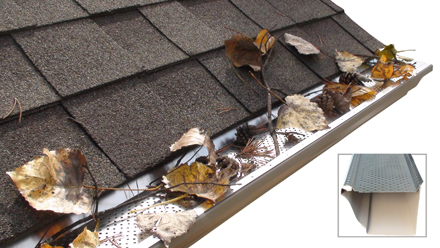 how to clean your eavestrough