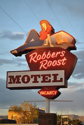 Stranded Kosmonaut Vintage Motel Signs