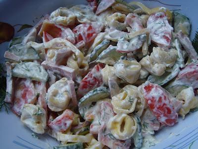 Reteta rapida de Salata cu tortellini