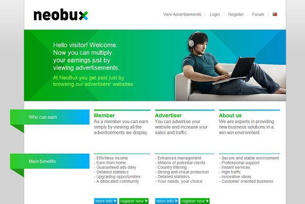 Free Internet Cash Guide: PalmBux - PTC Review #5