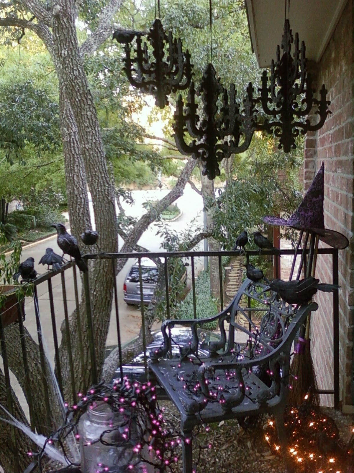 Halloween Patio Decorating Ideas