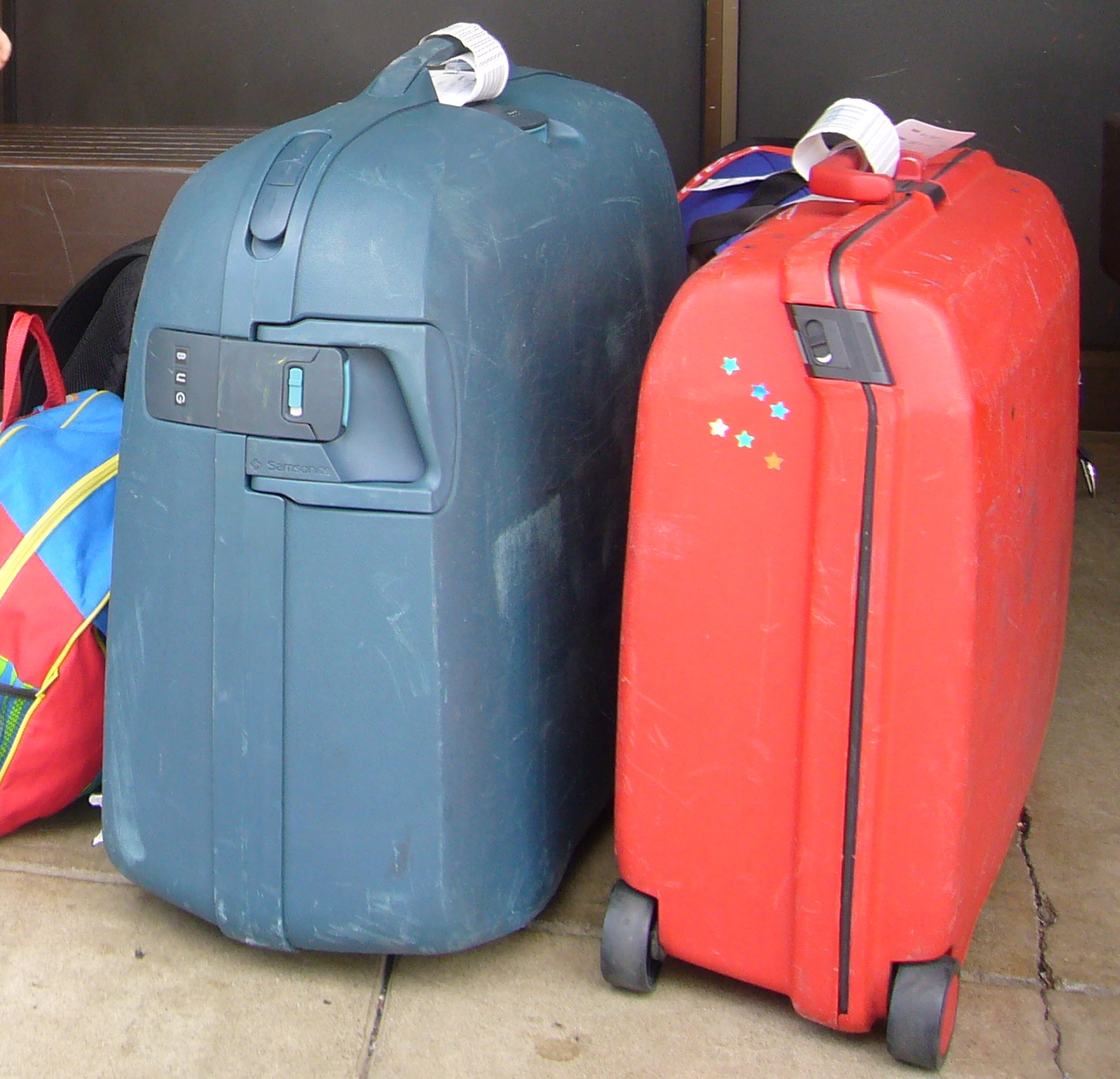 Traveling With Kids: Hard or soft? The luggage question.