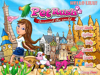Game Pet Rush : Around the World