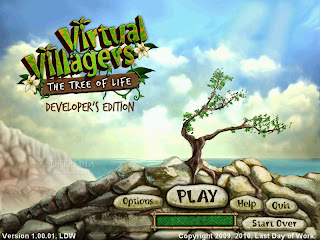 Game Virtual Villagers: The Tree of Life