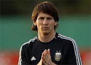 . mando de las formaciones juveniles de la Selección Argentina de fútbol. messi