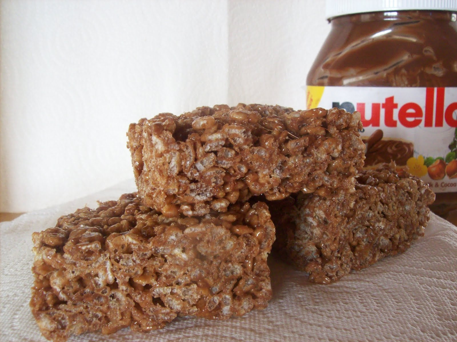 Delicious Discoveries: Nutella Rice Krispie Treats