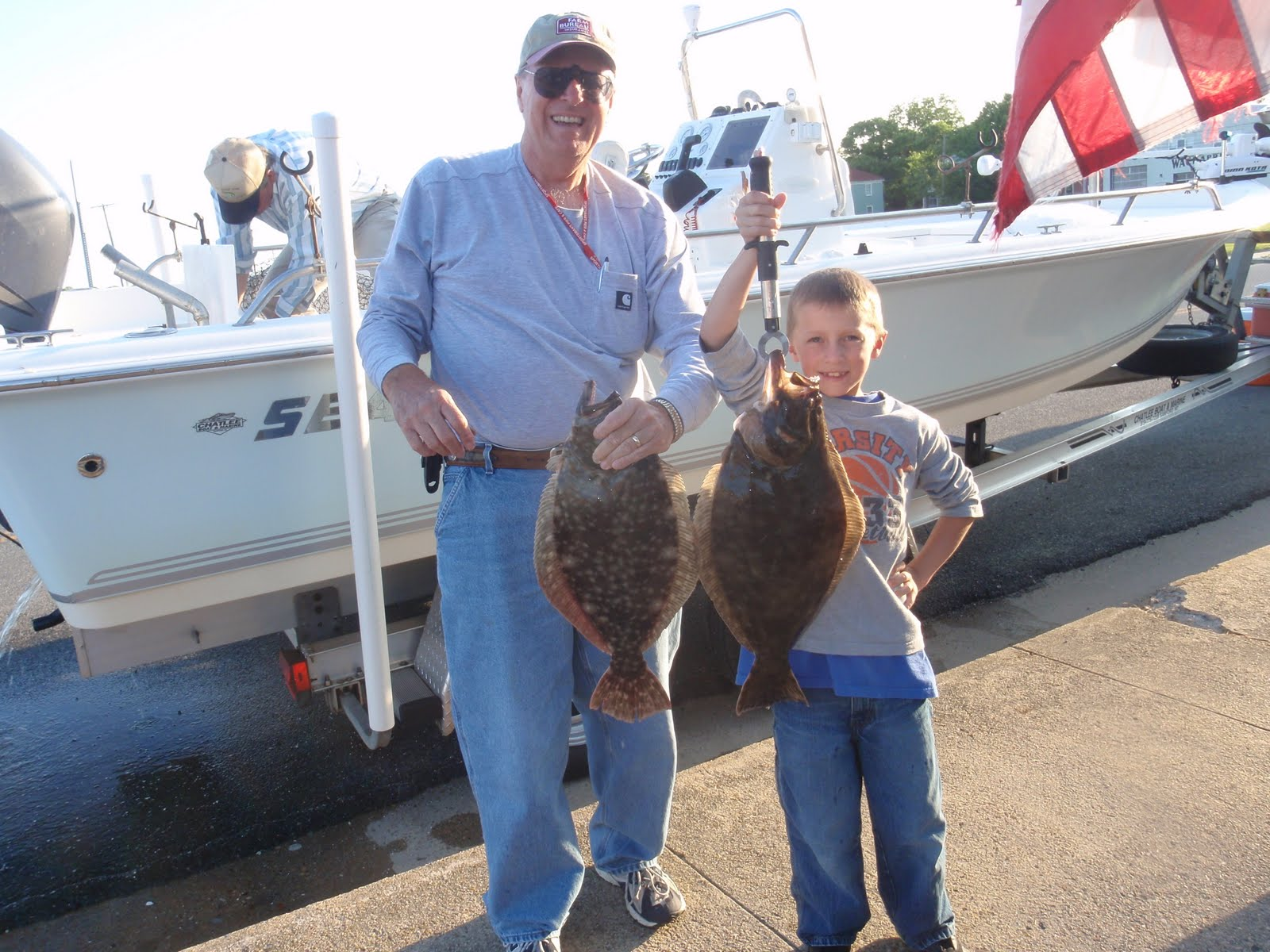 fishwach wachapreague fishing report family fun