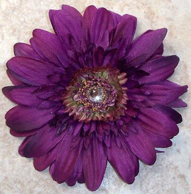 Dark Purple Gerber Daisy~