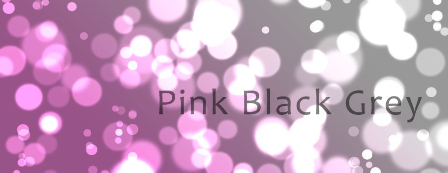 Pink Black Grey