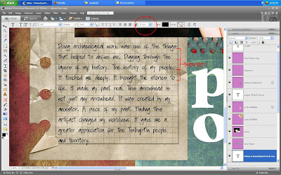 Screen shot for text tutorial by Cammy Plummer, Creative Team Member