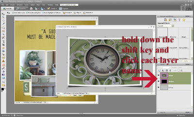 Digital Scrapbooking Tutorial Screenshot by Cammy Plummer for Everyday Digital Scrapbooking